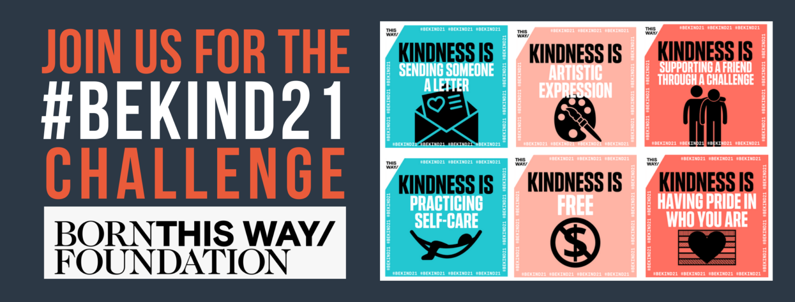 #BeKind21 graphic for website
